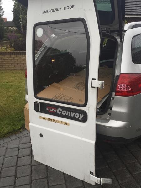 ldv convoy rear door