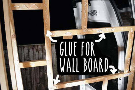 Building the shower enclosure - Vandog Traveller