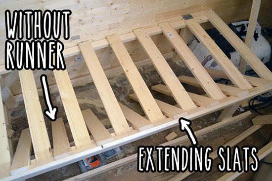An Extending Bed In My Diy Van Conversion Vandog Traveller