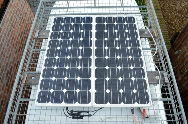 Solar Panels On Van