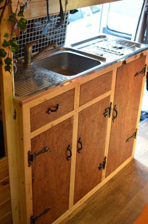 Making A Kitchen In A Van Vandog Traveller