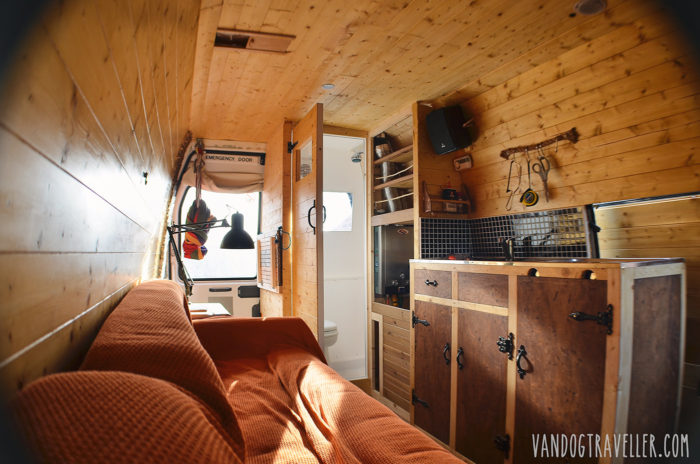 Campervan conversion in LDV