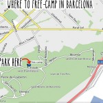 Where to free-camp in Barcelona