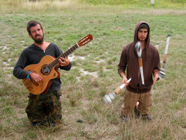 12/8/14 – Busking practice. Maybe…