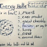 Carpark cooking: How to make energy balls –a good festival snack