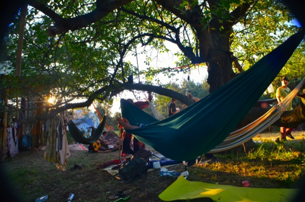 15/8/14 – We heard about a Psytrance party in the woods. Major Festival-- reunited with many people from SUN festival. Nice party!