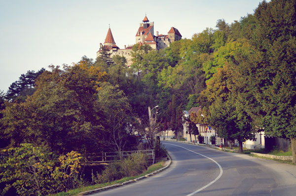 In Romania, if you see people selling tat, always expect a to see a castle round the corner