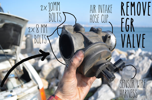 egr-valve-removal