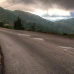 Driving a van through the mountains of Greece – avoiding tolls