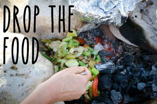 drop-food-in-fire