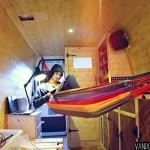 Putting a hammock in my camper van