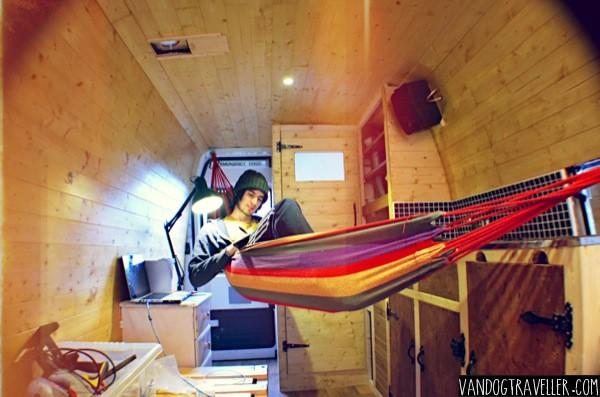 Putting A Hammock In My Camper Van Vandog Traveller