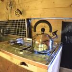 making a kitchen in a van