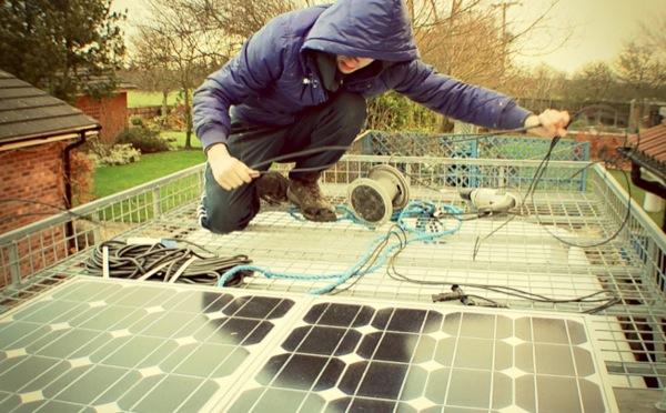 Van Roof Solar Panels
