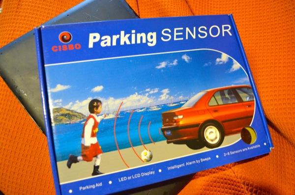 Installing parking sensors - Vandog Traveller