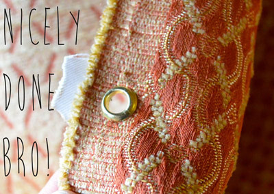 fabric-eyelet