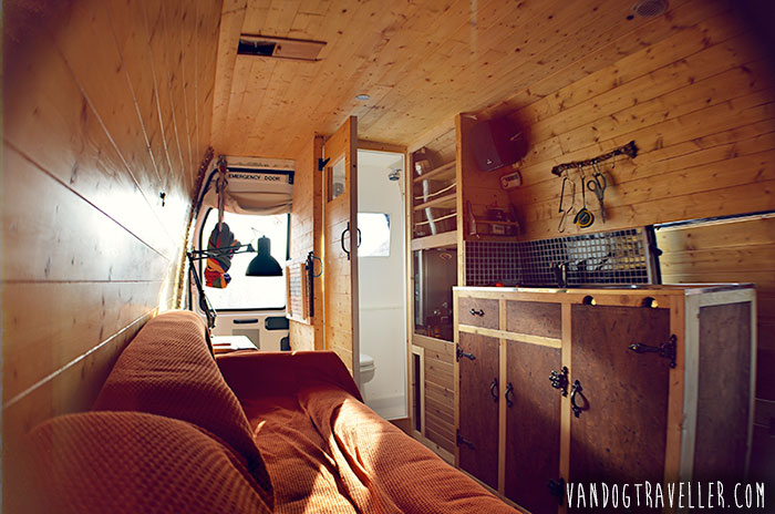 My DIY camper – from rusty van to cosy home in 5 months