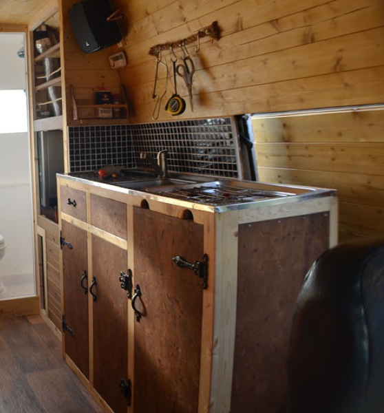 Making A Kitchen In A Van Vandog Traveller
