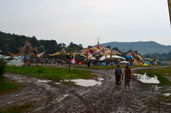 Muddy main stage