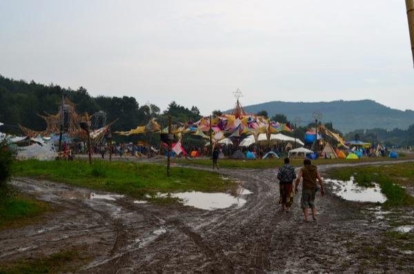 Muddy main stage