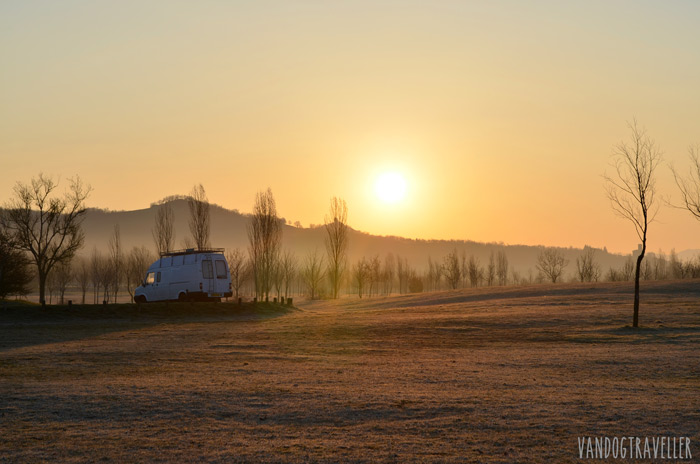 Wild camping - Spain
