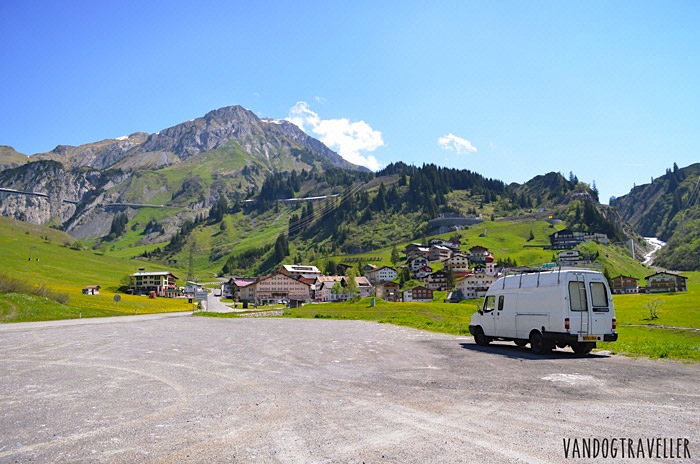 Wild camping - Austria