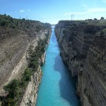 Crossing the Corinth Canal