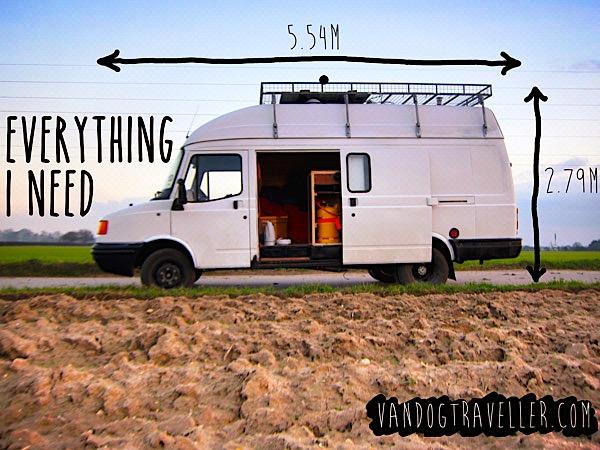 my ldv convoy campervan dimensions