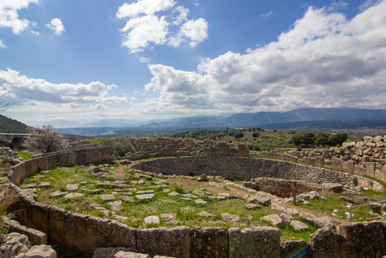 Mycenae archaeological site