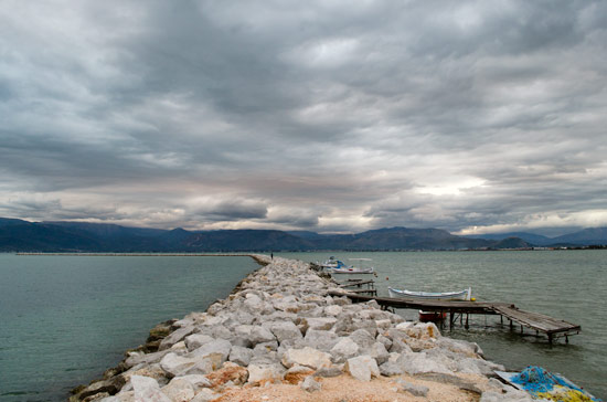A pier at the town of Nafplio