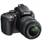 Nikon d5100 SLR camera