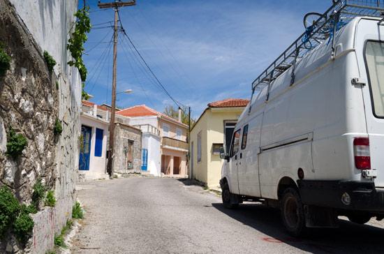lefkada-village-narrow-road