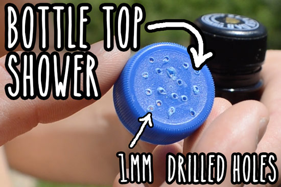 The Bottle Cap Camping Shower By Matt Vandog Traveller
