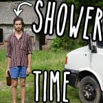 The bottle cap camping shower by Matt