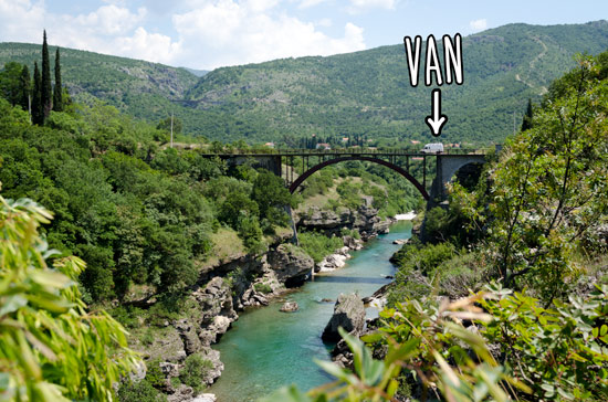 driving-through-montenegro-in-campervan-bridge