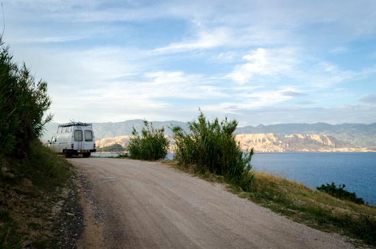 pag-island-croatia-dirt-road