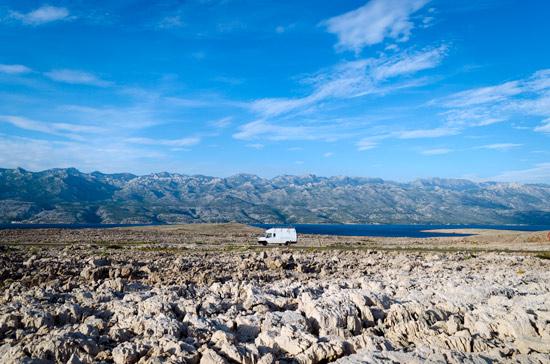 pag-island-croatia-rocks