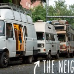 Meet the neighbours –a vanlife band from Italy