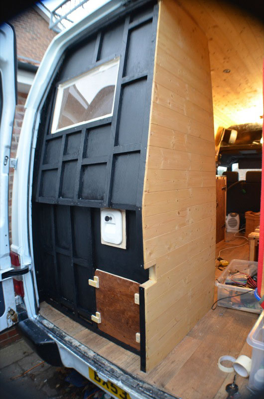 DIY campervan conversion photos - Vandog Traveller