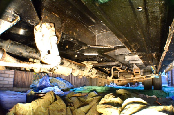 undersealing-van