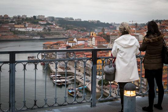 Porto-portugal-by-van-bridge-view