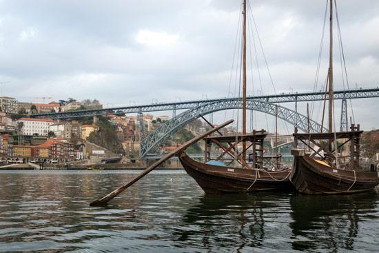 Porto-portugal-by-van-rabelo-boat