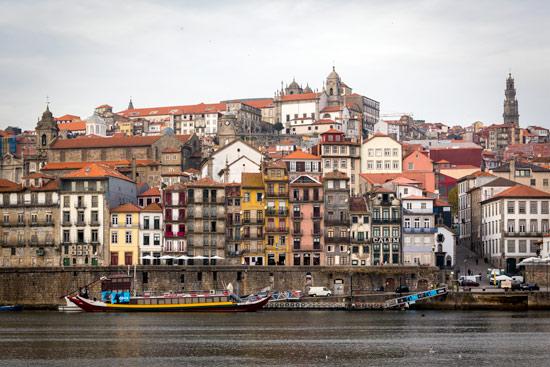 Porto-portugal-by-van-river-buildings