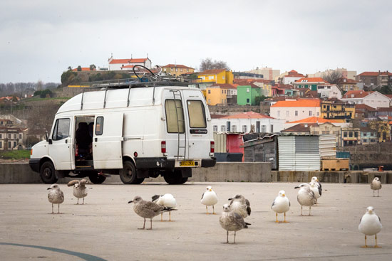 Porto-portugal-by-van-wildcamping-spot-marina