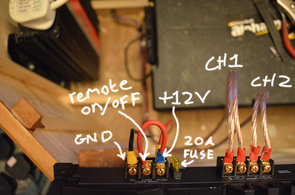 amplifier-wiring