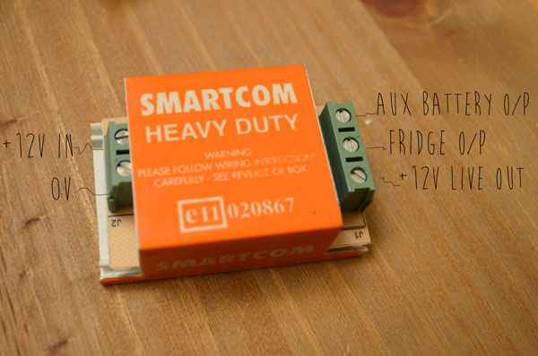 smartcom relay campervan 12v electrical system installation and wiring split charge diode wiring diagram at bayanpartner.co
