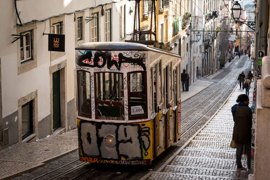 travelling-portugal-by-campervan-lisbon-tram