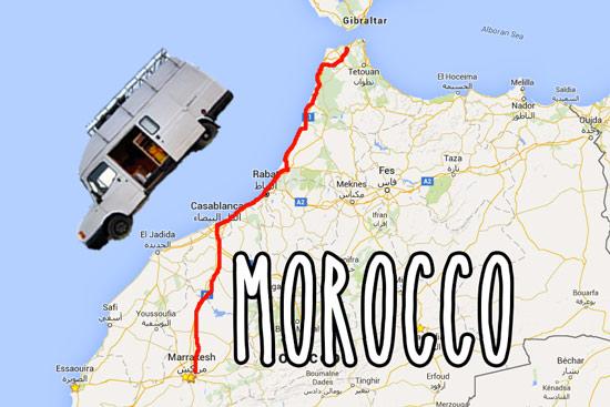 morocco-campervan-map