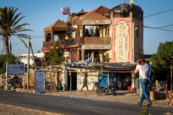 Morocco-by-campervan-sidi-kaouki-beach-cafe