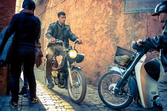 morocco-campervan-marrakech-mopeds